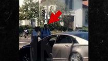 Larry King in Bev Hills Car Accident