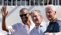 Barack Obama, George W. Bush, Bill Clinton Cameo Together at Presidents Cup 2017