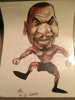 Mike Tyson's Personal Items