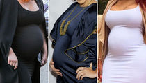 Kardashians About To Pop -- Guess Whose Baby Bump!