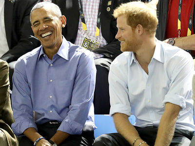 President Obama Can't Get Enough of Prince Harry's Jokes!!!