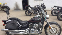 Jada Pinkett Smith's Sweet Old Motorcycle For Sale for $5k