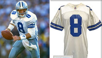 Troy Aikman's Game-Worn Super Bowl Jersey Could Fetch $100K!!