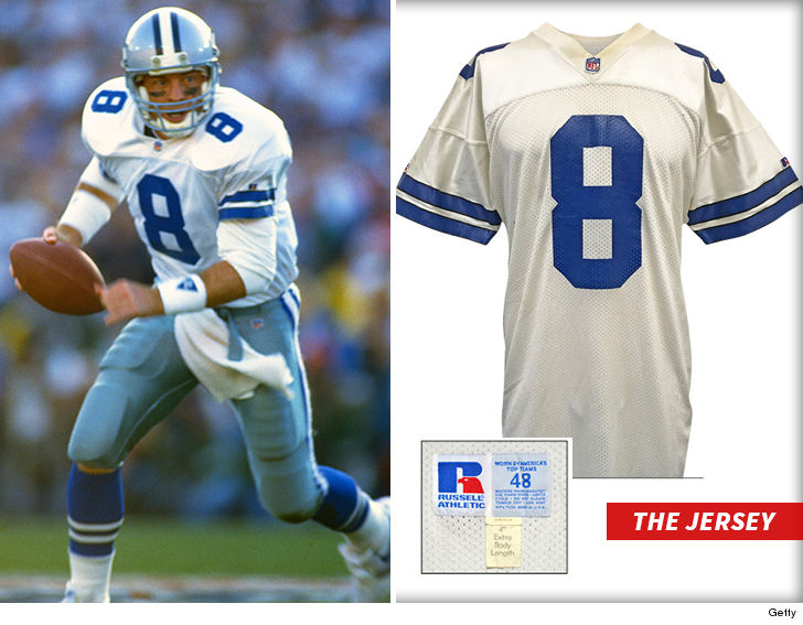 new style 753fe 607b7 8 troy aikman jersey zone