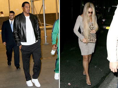 Beyonce and Jay-Z Hit the Town in NYC After Release of Her New Song