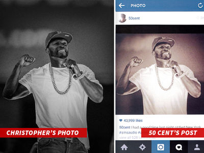 50 Cent Sued for Stealing Photographer's Pics