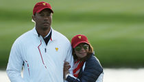 Tiger Woods Flaunts New Chick at President's Cup