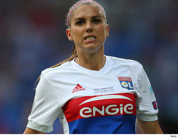 US women's striker Alex Morgan 'impaired', kicked out of Epcot