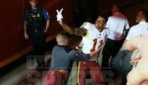 Redskins' Terrelle Pryor Goes After Chiefs Heckler: F**k Me? F**K YOU!!