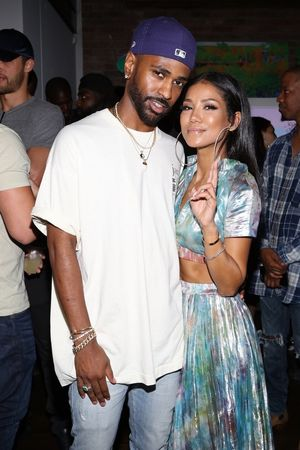 Big Sean and Jhené Aiko -- Together Photos