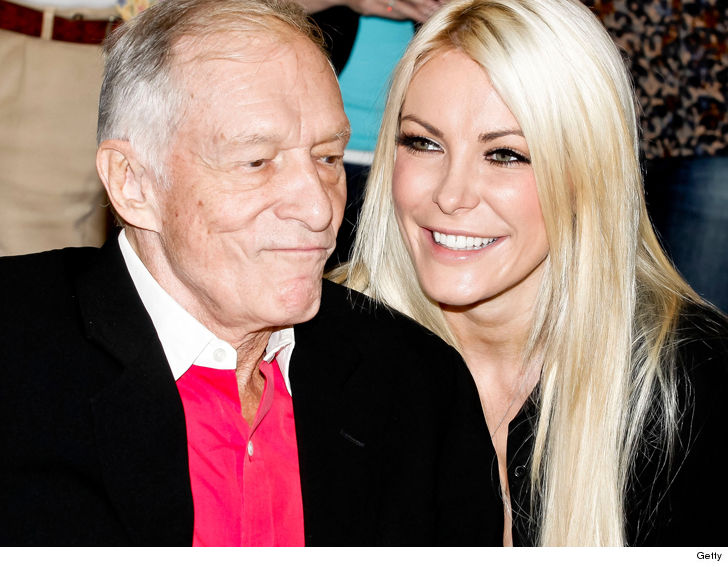 Hugh Hefner Truly Did Have A Ride Or Die By His Side In Crystal Harris Pleasant Surprise To Family And Friends Initially Skeptical Of The