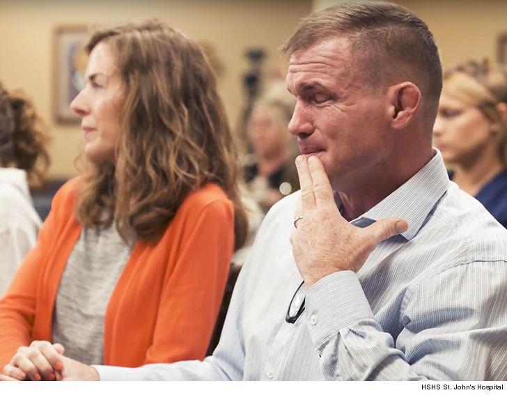 UFC's Matt Hughes Emotional Return to Hospital ... Nurses Honored for Work