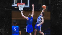 Duke's Grayson Allen Posterizes Teammate Day After Regaining Captain Title