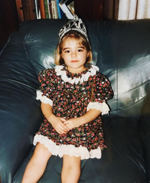 Before this tiara-wearing tot was wearing the Miss USA crown, she was just another pint-sized princess growing up in Cranston, Rhode Island.