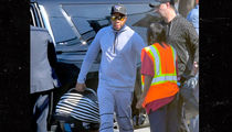 Beyonce & Jay-Z Take Twins for Helicopter Ride