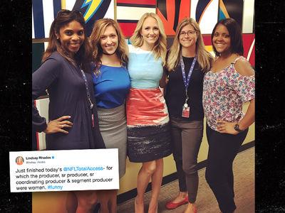 NFL Network to Cam Newton: Women Run This Bitch!