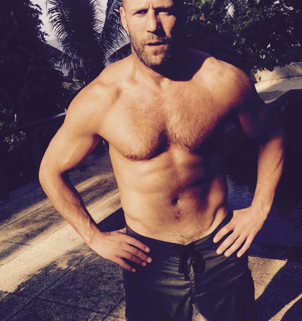 Jason Statham Hairy