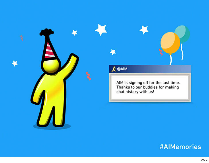 'Goodbye!' AOL Instant Messenger is signing off for good
