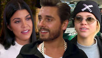 Kourtney Kardashian's Fine with Scott Dating Sofia Richie, It's Good for Everyone