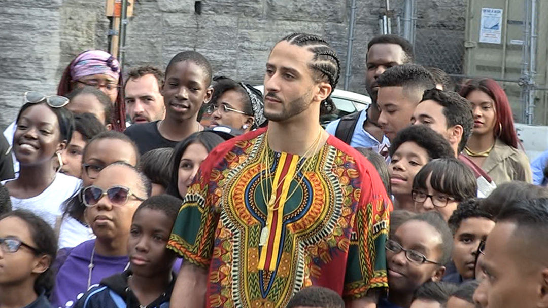 Image result for COLIN KAEPERNICK TOP SECRET HARLEM