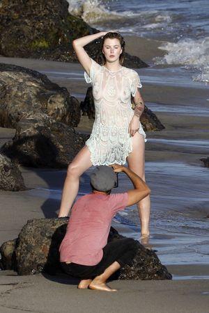 Ireland Baldwin Flaunts the Nipple in Malibu