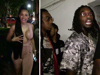 Cardi B, Migos Party Hard in Miami After BET Hip Hop Awards