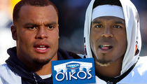 Dak Prescott Signed to Cam Newton's Dannon Yogurt Deal After Sexist Comment