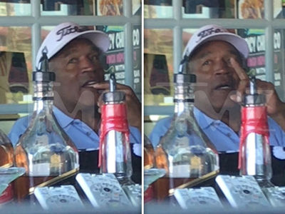 O.J. Simpson Orders Bloody Mary While Waiting for Taco Takeout