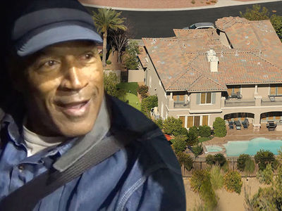 O.J. Simpson's New Neighbors are Nothing But Welcoming ... So Far