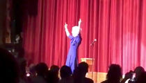 Kathy Griffin Wears Trump Mask, Flips Bird in Stand-up Return