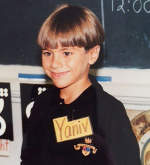 Before this smiling sweetheart was bringing lovers together on TV, he was just another bowl-cut cutie growing up in New York City.