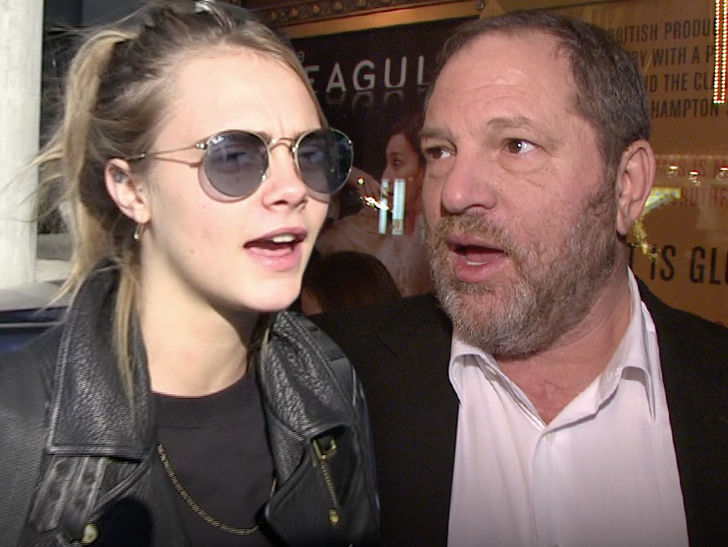 Cara Delevingne Claims Harvey Weinstein Made Pass At Her with Another Woman