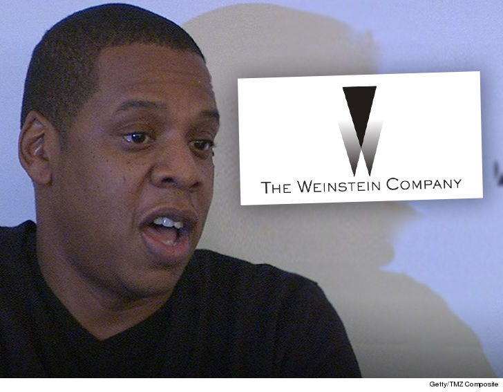 Jay-Z is talking with his team about buying Harvey Weinstein's interest in The Weinstein Company... TMZ has learned
