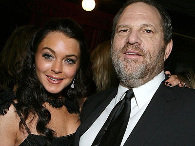 Lohan Bizarrely DEFENDS Harvey Weinstein -- Wait'll You See How Rose McGowan Reacted!