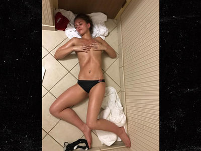 UFC's Paige VanZant Topless & Drained in Candid Weight-Cutting Pics