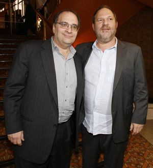 Bob and Harvey Weinstein Together