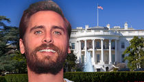 Scott Disick's Going to the White House with His Kids