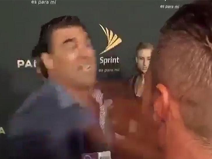 Mexican Soap Star Eduardo Yanez Bitch Slaps Reporter on Red Carpet