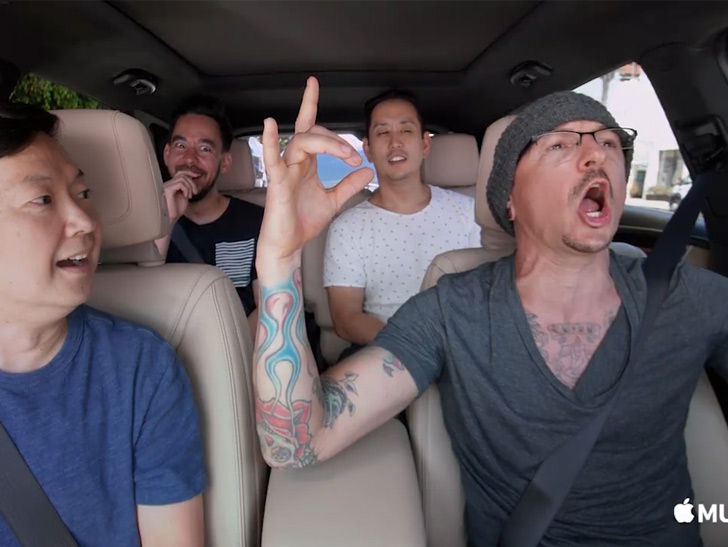 Chester Bennington's Carpool Karaoke Episode Airs
