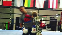 Sergey Kovalev Beat Up By Tiny Toddler Son