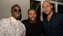 Diddy Throws Miami Welcome Party for New Marlins Owner Derek Jeter