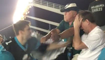 Panthers Stadium Fight: Victim Files Police Report