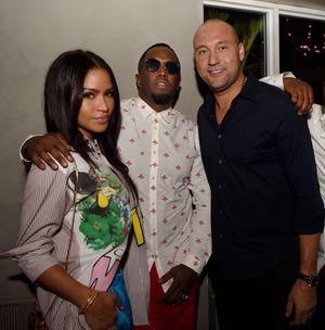 Derek Jeter At Star-Studded Dinner In Miami