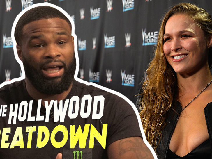 Tyron Woodley Says One Fight Could Get Ronda Rousey Back In UFC