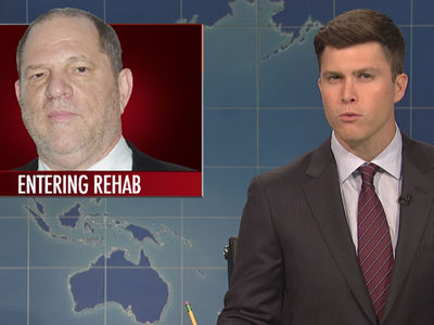 SNL Weekend Update, Weinstein Belongs in Prison