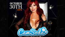 Farrah Abraham Performing Anal For Porn Site For Halloween