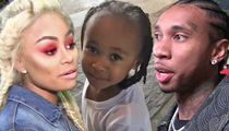 Blac Chyna, Tyga Are Cool Again ... But Only for King Cairo's Sake