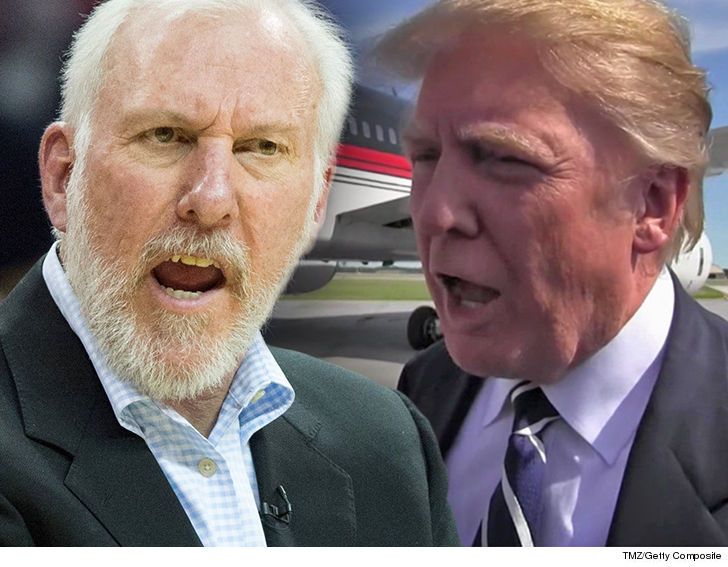 Spurs' coach Popovich: Trump is 'a soulless coward'