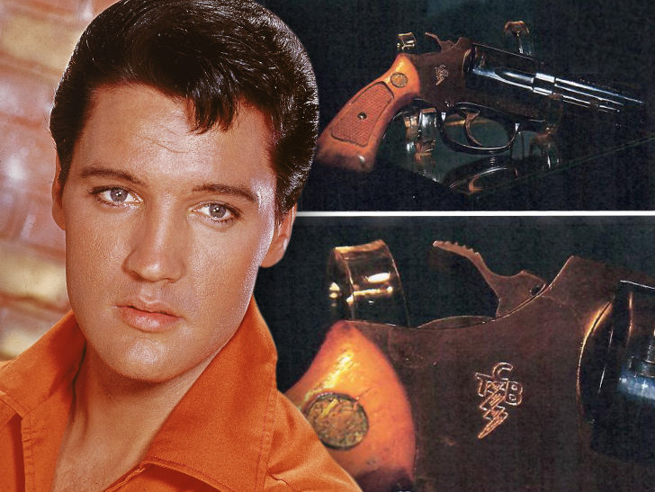 Elvis Presley's Personal 'T.C.B.' Revolver Up for Sale for $95k