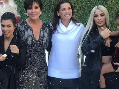 Kris Jenner Shares Rare Family Photo After Baby News -- Wait'll You See Khloe and the Kids!
